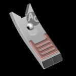 Špice Lemken s karbidovým plátkem BDL 4441B