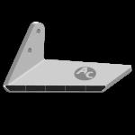 Křídlo Agrisem s karbidovým plátkem ADA 0301G (levé)