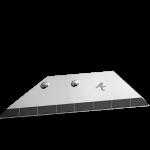 Křídlo Rabe s karbidovým plátkem ADR 0075D  (pravé)