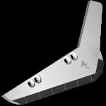 Radlice vyorávače Holmer s plátky karbidu SRH 0018D (pravá)