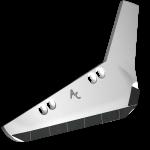 Radlice vyorávače Holmer s plátky karbidu SRH 3301D (pravá)