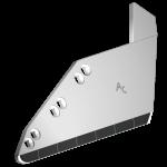Radlice vyorávače Matrot s plátky karbidu SRM 0141D (pravá)