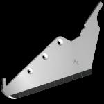 Radlice vyorávače Matrot s plátky karbidu SRM 7282D (pravá)