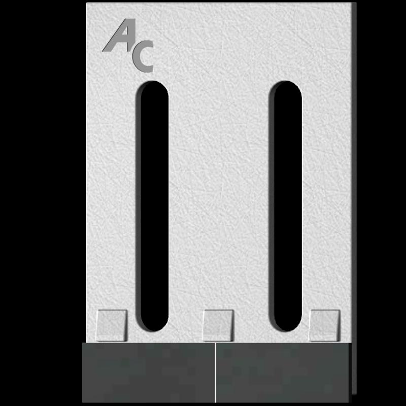 Škrabka Vicon GVI 0005 se slinutým karbidem
