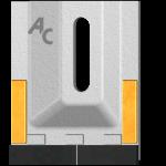 Škrabka Amazone GAM 0085 se slinutým karbidem