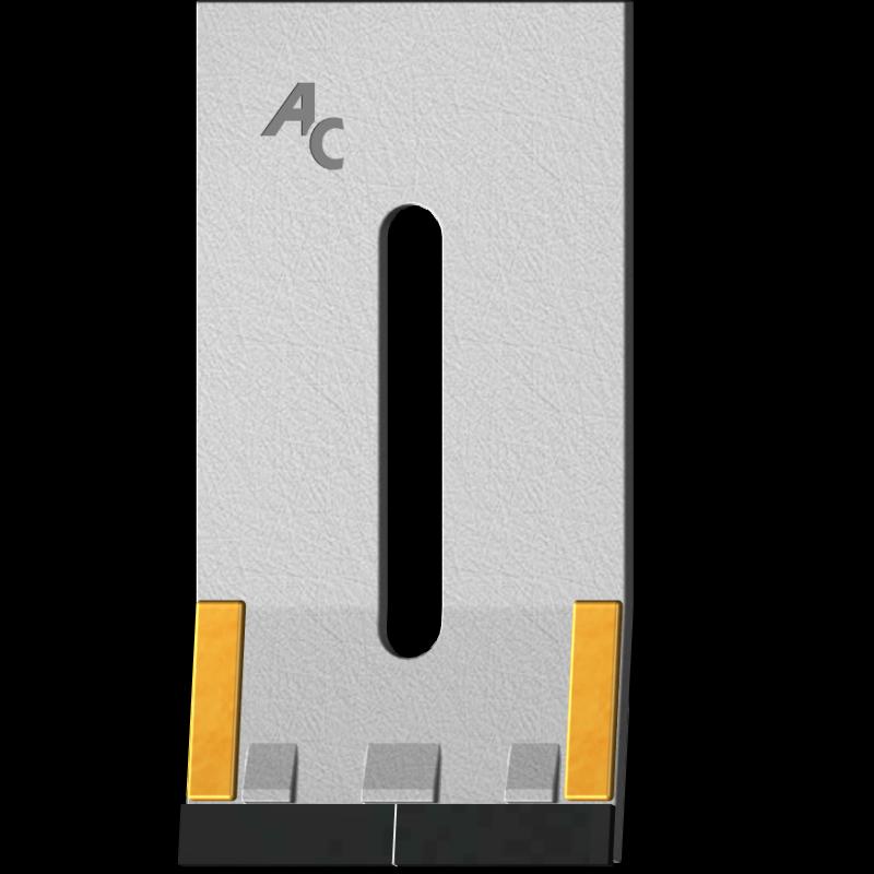 Škrabka Kühn GKU 0090 se slinutým karbidem