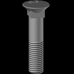 Šroub BTFCC 12100, pevnost 12.9