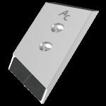 Dláto Gregoire - Besson s karbidovým plátkem PBG 2385D (pravé)