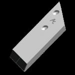 Dláto Opall-Agri s karbidovým plátkem PBL 4054D (pravé)