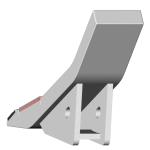 Dláto Bednar (Stromexport) se slinutým karbidem SDB 0197-R