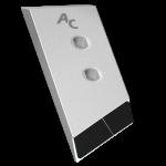 Dláto Gregoire - Besson s karbidovým plátkem PBG 2385G (levé)
