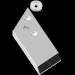 Dláto Lemken s karbidovým plátkem PBL 4156G (levé)