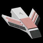 Dláto Quivogne se slinutým karbidem SDQ 0022-AR
