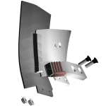 Krojidlo Bonnel s karbidovým plátkem BLM 7234G (levé)