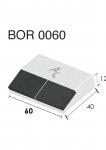 Návarový segment BOR 0060 (40x60x12 mm) Agricarb