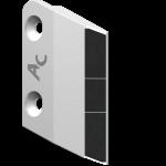 Pracovní těleso Agrisem s karbidovým plátkem LAB 5122G (levé)