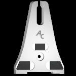 Otěrová deska Horsch s karbidovým plátkem SMH 0645 (150 mm)