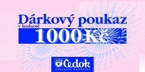 Čedok 1000 Kč