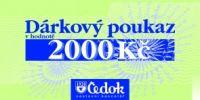 Čedok 2000 Kč