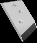 Dláto Overum s karbidovým plátkem PBO 0120G (levé)