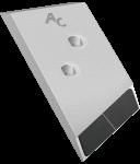 Dláto Overum s karbidovým plátkem PBO 0131G (levé)