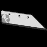"""Ostří Gregoire-Besson 14"""" s karbidovým plátkem SBG 0401D (pravé)"""