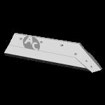 """Ostří Kverneland 16"""" s karbidovým plátkem SBK 3056D (pravé)"""