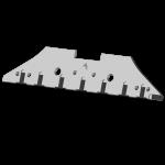Plaz Kverneland s karbidovým plátkem CSK 0609G (levý)