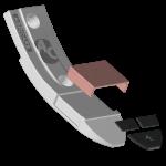 Špice Lemken s karbidovým plátkem BDL 4441C+