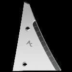 Výměnný díl Kühn - Huard s karbidovým plátkem ETH 0064D (pravý)