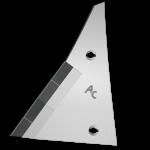 Výměnný díl Kühn - Huard s karbidovým plátkem ETH 0064G (levý)