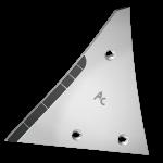Výměnný díl Kühn - Huard s karbidovým plátkem ETH 0120G (levý)