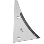 Výměnný díl Kühn - Huard s karbidovým plátkem ETH 1780D (pravý)