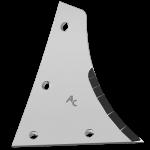 Výměnný díl Kühn - Huard s karbidovým plátkem ETH 0172D (pravý)