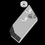 Dláto Lemken s karbidovým plátkem PBL 4156ND (pravé)