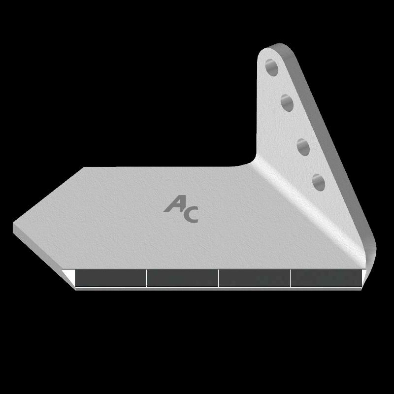 Křídlo Bremer s karbidovým plátkem ADH 0856D (široké, pravé) Agricarb