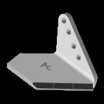 Křídlo Horsch s karbidovým plátkem ADH 0854D (úzké, pravé)