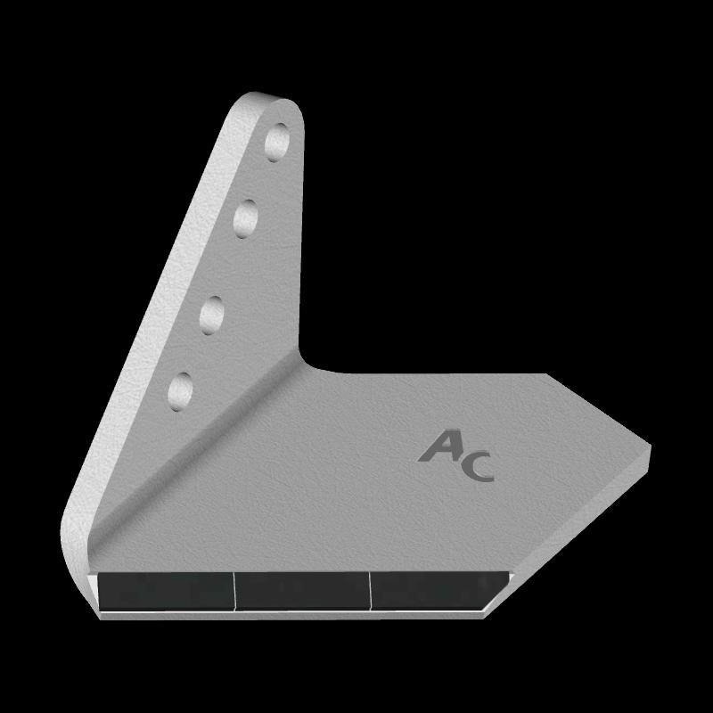 Křídlo Horsch s karbidovým plátkem ADH 0854G (úzké, levé) Agricarb