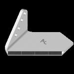 Křídlo Horsch s karbidovým plátkem ADH 0856G (široké, levé)
