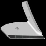 Křídlo Kockerling s karbidovým plátkem ADK 0005D (pravé)