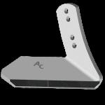 Křídlo Kuhn - Huard s karbidovým plátkem ADK 8180D (pravé)