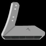 Křídlo Kuhn - Huard s karbidovým plátkem ADK 8180G (levé)
