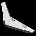Radlice vyorávače Holmer s plátky karbidu SRH 0018G (levé)