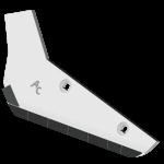 Radlice vyorávače Holmer s plátky karbidu SRH 2012G (levá)