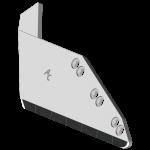 Radlice vyorávače Matrot s plátky karbidu SRM 0141G (levá)