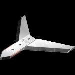 Radlička s křídlem Actisol se slinutým karbidem SFA 9311