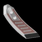 Špice Amazone s karbidovým plátkem SCA 8676D (pravá)