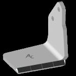Křídlo Bednar s karbidovým plátkem ADB 0351D (pravé)