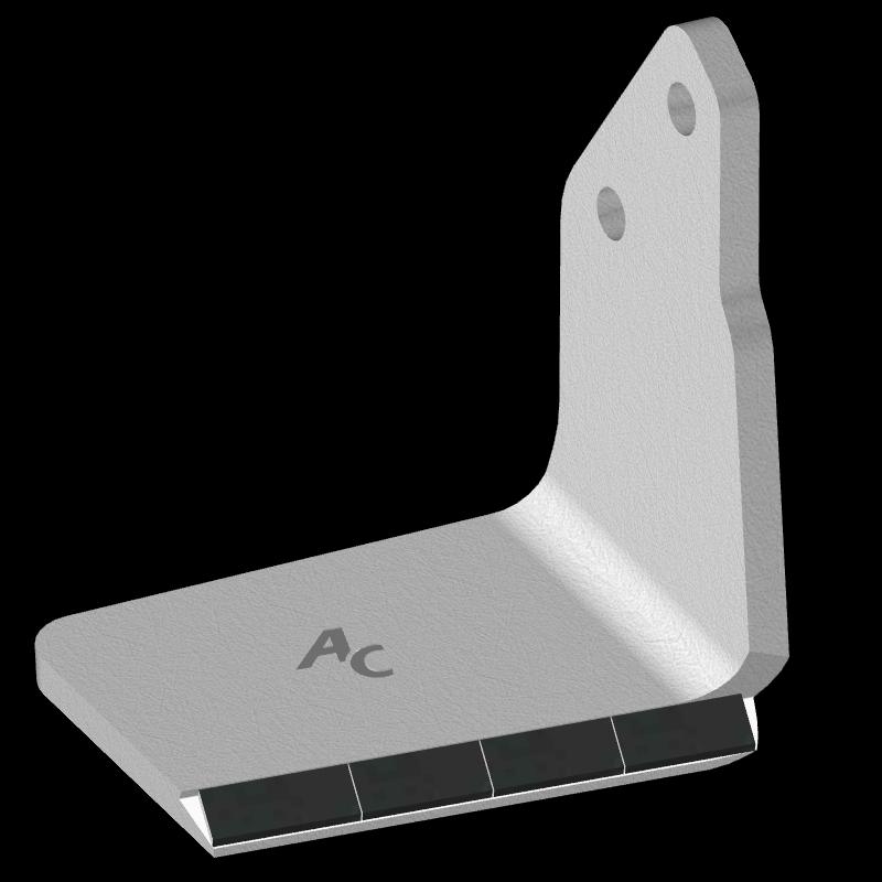 Křídlo Bednar s karbidovým plátkem ADB 0351D (pravé) Agricarb